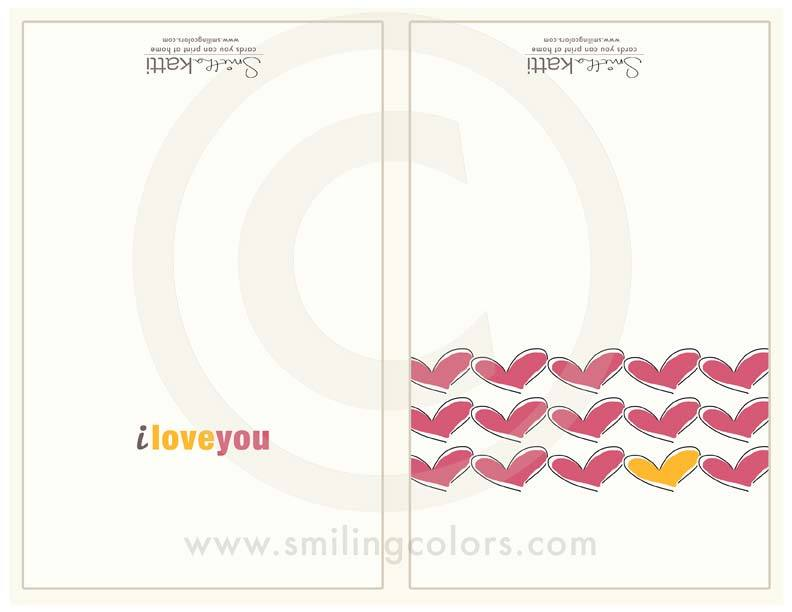 Image of Pink Heart cards