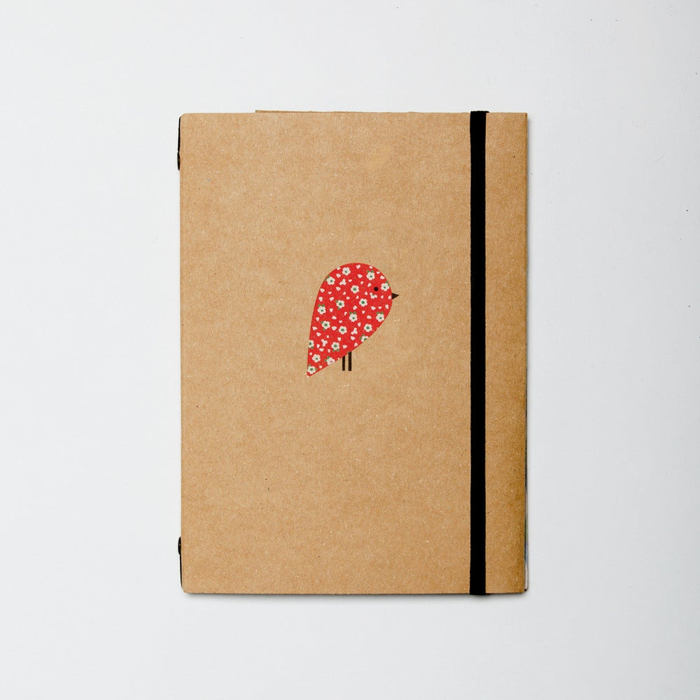 Image of Red Robin Lined Pocket Book