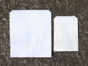 Image of White Glassine Bags