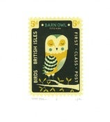 Image of Tom Frost<br>Owl Stamp