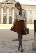 Image of Uptown Girl Skirt (brown)
