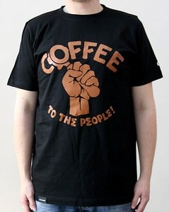 Image of Coffee To The People Tee black