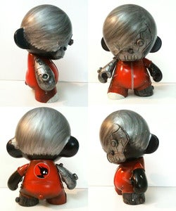 "Image of 'EmoCyBoy' - Custom 7"" Munny by TOYSREVIL"