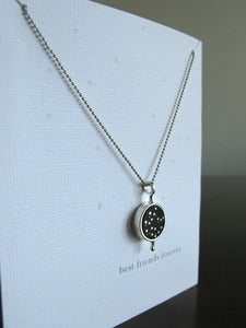 Image of Best Friends Necklace ~ Castor and Pollux Constellation