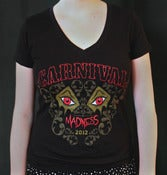 Image of Carnival of Madness - 2012 Girls Tour Shirt 