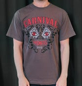 Image of Carnival of Madness - 2012 Grey Tour Shirt 