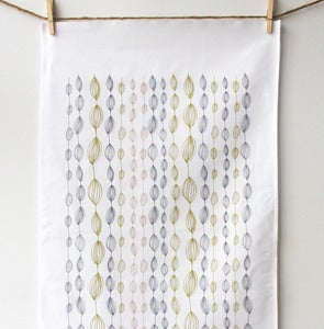 Image of Onions and Leaves Tea Towel