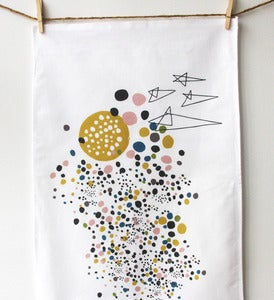 Image of Outer Space Tea Towel