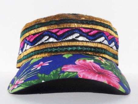 Image of Paradise Embroidered Cap - Multi