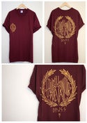 Image of will prevail maroon t'shirt