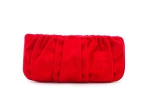 Image of Mini Jane Clutch - Red Canvas