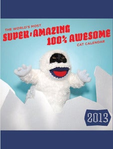 Image of Super, Amazing, 100% Awesome Cat Calendar by Kate Funk