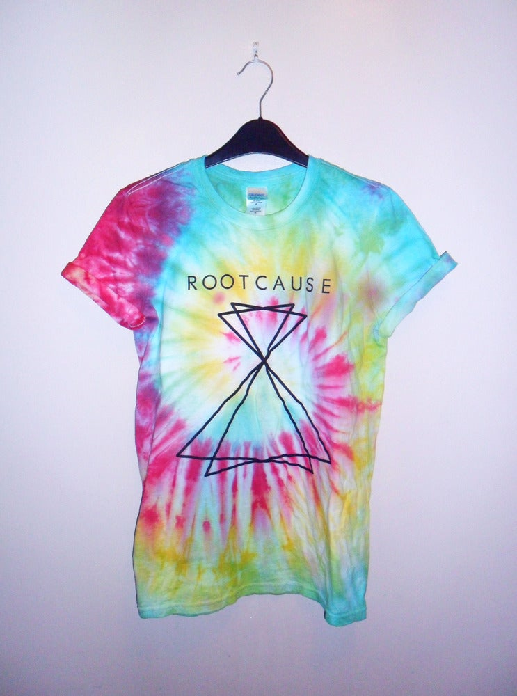 Image of ROOT CAUSE - PLAIN LOGO TIE DYE