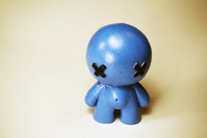 Image of Blue Baby Figure