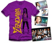 Image of Zendaya Gold Sticker Package Purple