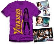 Image of Zendaya Gold Sticker Package Purple
