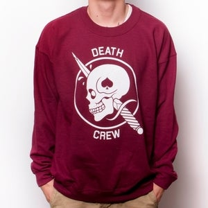 Image of 27 - DEATH CREW - CREWNECK SWEATSHIRT