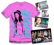 Image of Zendaya Music Sticker Package Pink