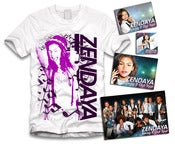 Image of Zendaya Music Sticker Package White