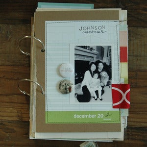 Image of this christmas art journal