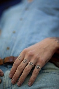 Image of Echo Rope Ring Mens