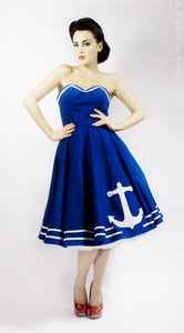 Image of Applique Anchor Dress