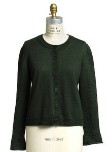 Image of Knit Green Cardigan