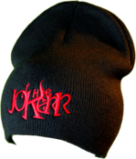Image of The Jokerr Beanie - Red on Black