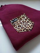 Image of Leopard Pocket Crew Neck Unisex