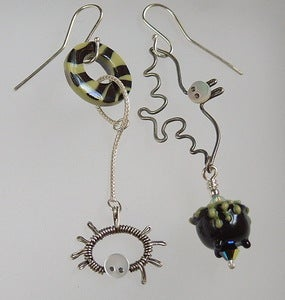 Image of Happy Halloween Tricky Earrings