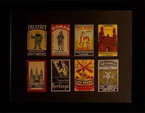 Image of 'Series Three' ~ Matchbook Collection ~ By Omar Zingaro Bhatia
