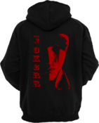 Image of Red Scarface Zip-Up Hoodie