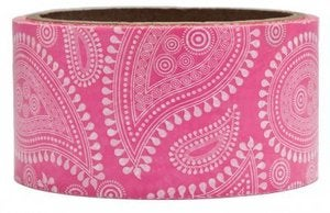 Image of Pink Paisley Packing Tape