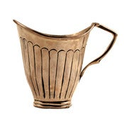 Image of Scalloped Silver Creamer 