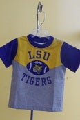 Image of LSU Tigers Crew Neck Quarterback Boys T-Shirt