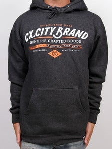 Image of CRAFTED PULLOVER (Charcoal Heather)