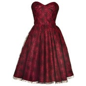 Image of Spider Lace 50s Style Dress