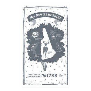Image of New Hampshire State Towel