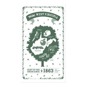 Image of West Virginia State Towel