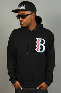 Image of Ide's B Hoodie Black