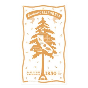 Image of California State Towel