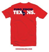Image of Puro Pinche Texans Tee (Men's tee Red)