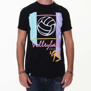 Image of Dos Volleyball '93 | Black T-Shirt