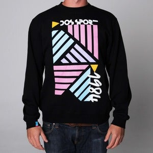 Image of Dos Sport 1984 | Black Sweatshirt