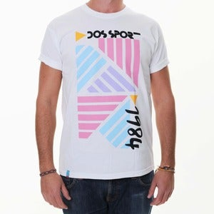 Image of Dos Sport 1984 | White T-Shirt