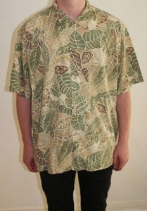 Image of Pendleton Shirt Leaf Pattern