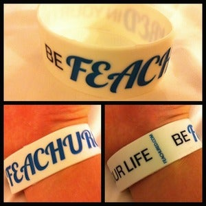 Image of Be Feachured In Your Life Wristband