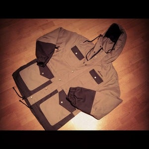 Image of Success Trapper Jacket (Men-Beige)