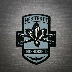 Image of Masters of Chicken Scratch Sticker