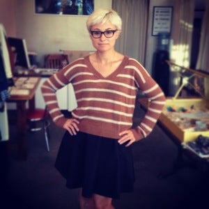 Image of Kain Label striped linen sweater